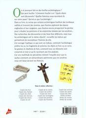 Copain de l'archeologie - 4ème de couverture - Format classique