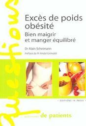 Exces de poids, obesite - Intérieur - Format classique