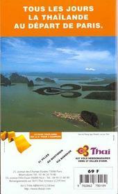 Thailande 1997-1998, le petit fute (edition 3) - 4ème de couverture - Format classique