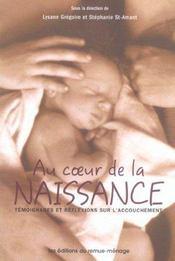Au Coeur De La Naissance - Intérieur - Format classique