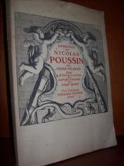 Entretien sur Nicolas Poussin. - Couverture - Format classique