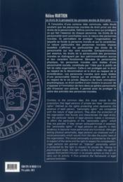 Les droits de la personnalité des personnes morales de droit privé - 4ème de couverture - Format classique