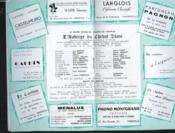 Programme Opera Munucipal De Marseille. Saison 1954-1955. L'Auberge Du Cheval Blanc, Operette En 2 Actes Et 25 Tableaux. - Couverture - Format classique
