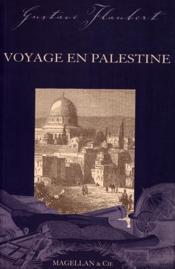 Voyage en Palestine - Couverture - Format classique