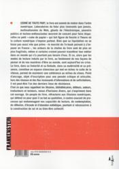 L'assassinat des livres par ceux qui oeuvrent à la dématérialisation du monde - 4ème de couverture - Format classique