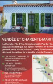 Vendée et Charente-Maritime (2e édition) - 4ème de couverture - Format classique