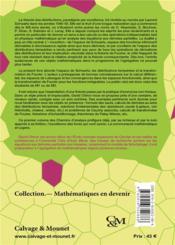 Chemins d'analyse t.1 ; espace de Schwartz, distributions tempérées et transformation de Fourier - 4ème de couverture - Format classique