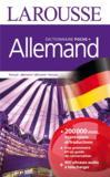Larousse de poche + ; allemand ; français-allemand / allemand-français