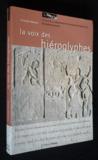 La voix des hiéroglyphes