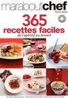 365 recettes faciles de l'appéritif au dessert