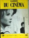 Cahiers Du Cinema N°130 du 01/04/1962