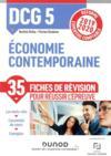 DCG5 ; économie contemporaine - fiches de révision - réforme 2019-2020 - réforme expertise comptable (édition 2019/2020)