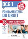 DCG1 ; fondamentaux du droit ; fiches de révision ; réforme 2019/2020 ; réforme expertise comptable 2