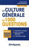 La culture générale en 1000 questions (édition 2011)