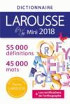 Dictionnaire Larousse mini (édition 2018)