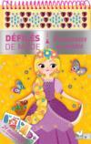 Bloc à spirales ; princesses de contes ; défilés de mode