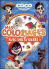 Mes coloriages avec stickers ; Coco