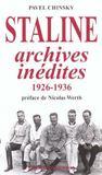 Staline, archives inedites (1926-1936)