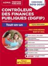 Contrôleur des finances publiques (DGFIP) ; catégorie B ; tout-en-un (édition 2019/2020)