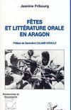 Fetes Et Litterature Orale En Aragon