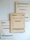 (lot 3 livres) Vibrances. - Mouvances. - Nuances