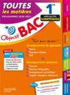 Objectif bac ; toutes les matières ; 1re spécialités scientifiques (édition 2020/2021)