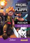 Frigiel et Fluffy ; agenda scolaire (édition 2018/2019)