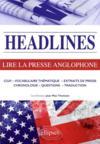 Current issues ; lire la presse anglophone en 21 dossiers