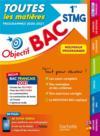 Objectif bac ; toutes les matières ; 1re STMG