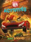 Livre d'activités avec stickers ; Ralph 2.0