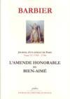 Journal d'un avocat de Paris t.6 (1743-1744) ; l'amende honorable du bien-aimé