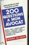 200 Question A Mon Avocat