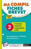 MES FICHES ABC DU BREVET T.37 ; français ; histoire ; géographie ; EMC ; 3e (édition 2018)