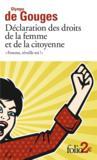 """""""femme, réveille-toi !"""" déclaration des droits de la femme et de la citoyenne"""