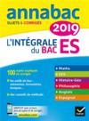 ANNABAC ; l'intégrale bac ES (édition 2019)