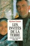 Les invites de la terre. armenie, karabagh (1988-1992)