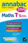 ANNABAC ; maths ; terminale S spécifique & spécialités (édition 2019)