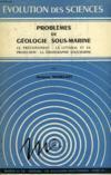 Problemes De Geologie Sous-Marine