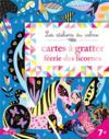 Cartes à gratter féérie licornes ; pochette avec accessoires