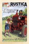 Carnet de notes ; ne laissez pas les enfants... jouer avec le tracteur