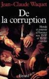 De la corruption