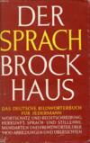 Der Sprach-Brockhaus, Deutsches Bildwörterbuch Für Jedermann