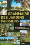 Grammaire des jardins parisiens
