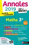 ANNALES ABC BREVET T.24 ; mathématiques ; 3e (édition 2019)
