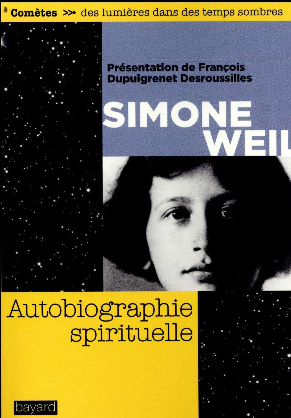 Autobiographie Spirituelle Francois Dupuigrenet