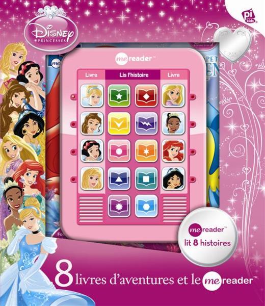 Me Reader Princesses Disney Ma Tablette De Lecture Avec