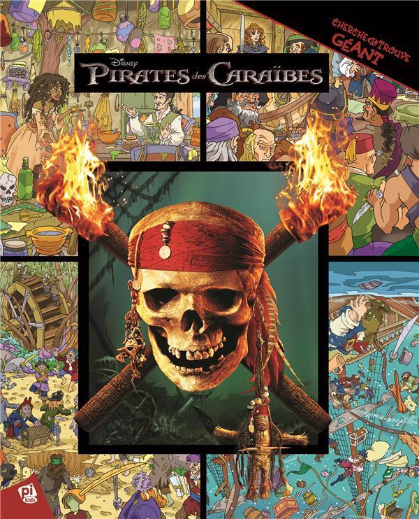 Cherche Et Trouve Geant Pirates Des Caraibes Disney