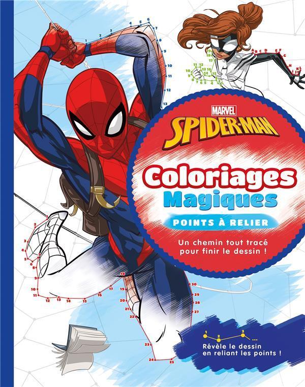 Spider Man Coloriages Magiques Points A Relier Disney Livre