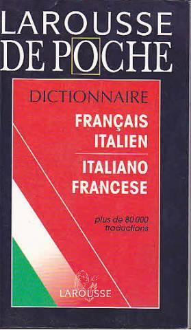 Larousse De Poche Francais Italien Italien Francais