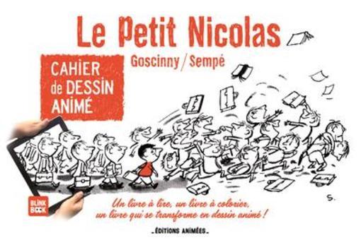 Cahier De Dessin Anime Le Petit Nicolas Sempe Goscinny
